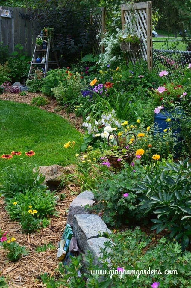 Flower Garden Border