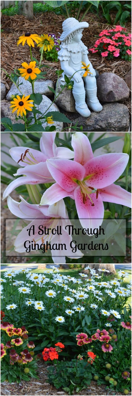 Garden Tour - A Stroll Through Gingham Gardens