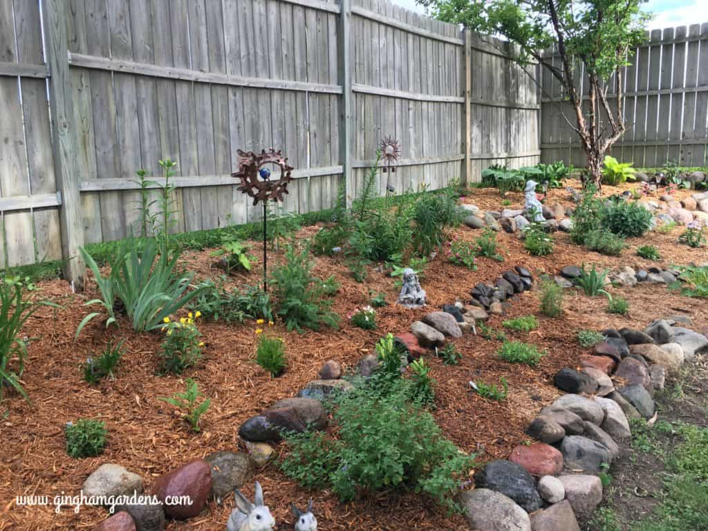 Garden Makeover - After | Tiered Flower Garden