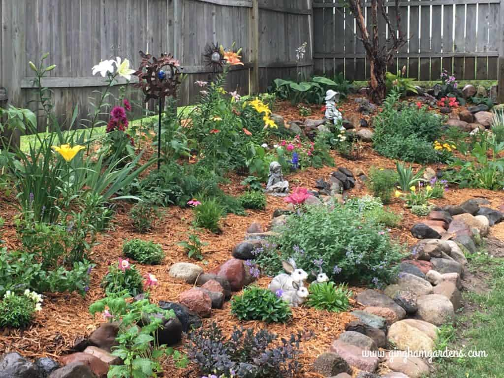 Beautiful Perennial Garden Makeover