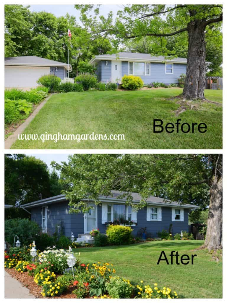 Garden Makeover Before & After