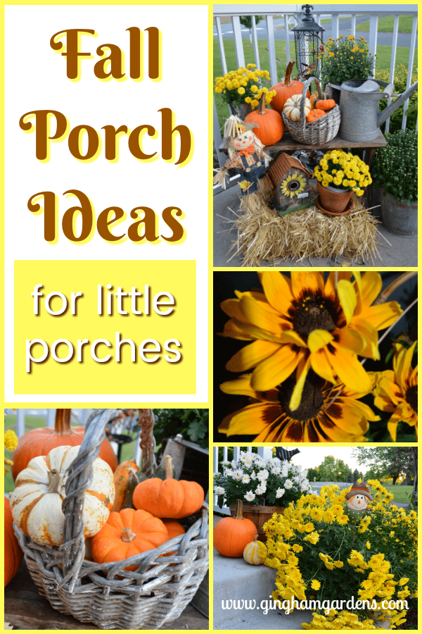 Fall Porch Ideas for Little Porches