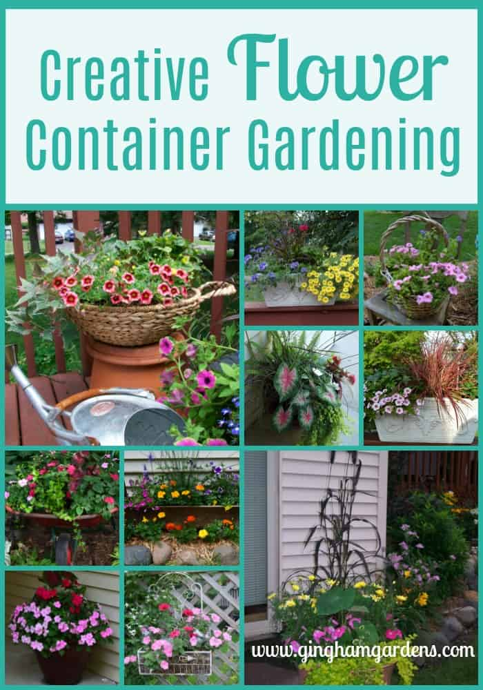 Creative Flower Container Gardening