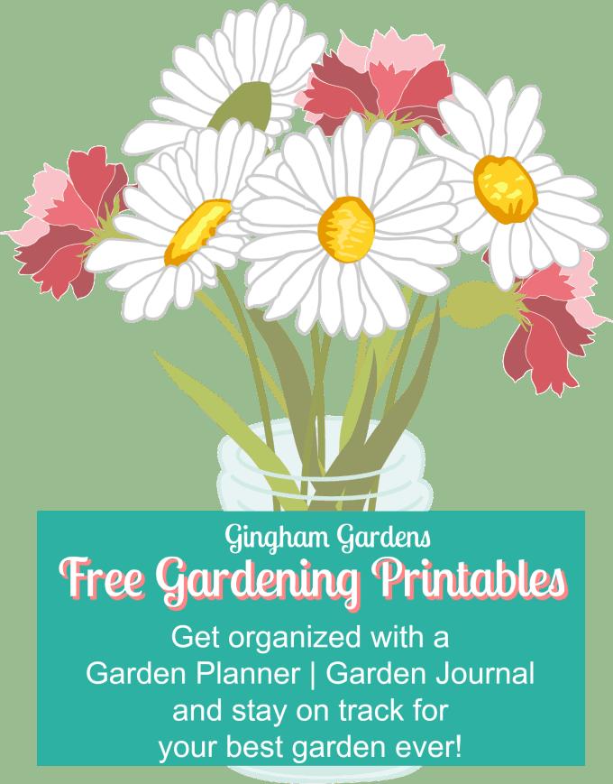 Free Gardening Printables