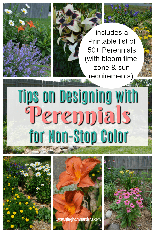 Tips for Designing with Perennials