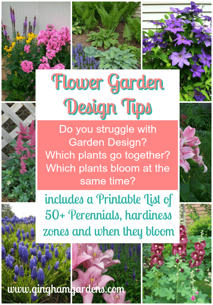 Simple Flower Garden Design Tips