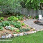 Shade Garden Makeover - After