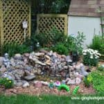 Small DIY Garden Pond