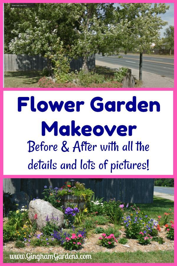 Flower Garden Makeover