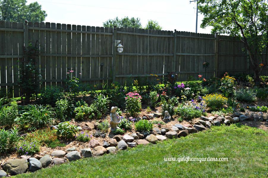 July Flower Garden Tour - Tiered Flower Garden