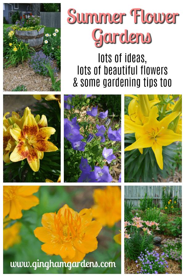 Summer Flower Gardens