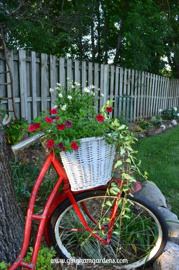 Vintage Bicycle in the Garden