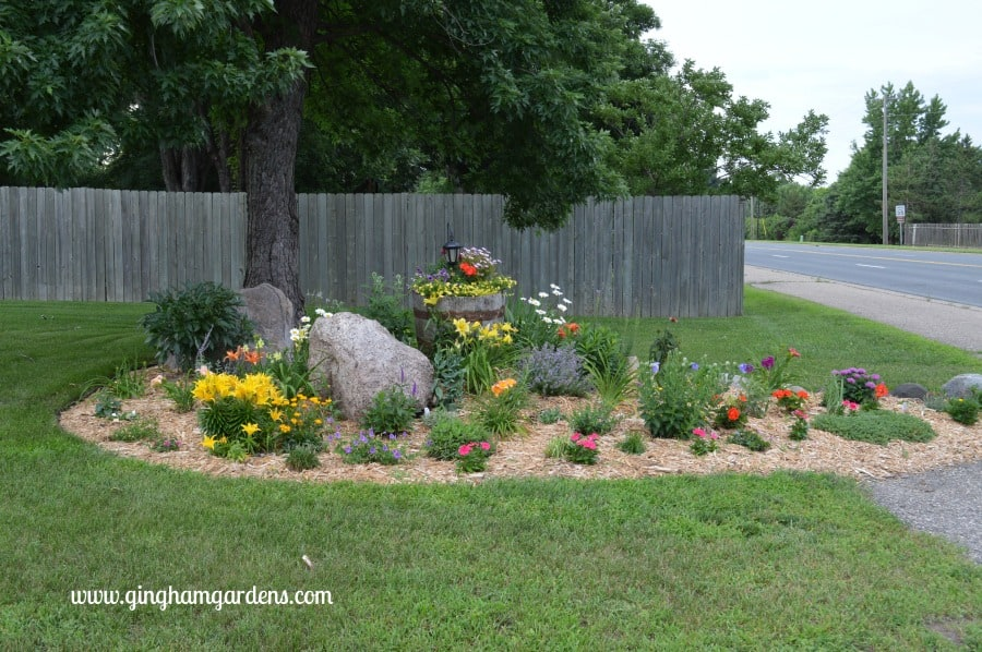 Flower Garden - Makeover After
