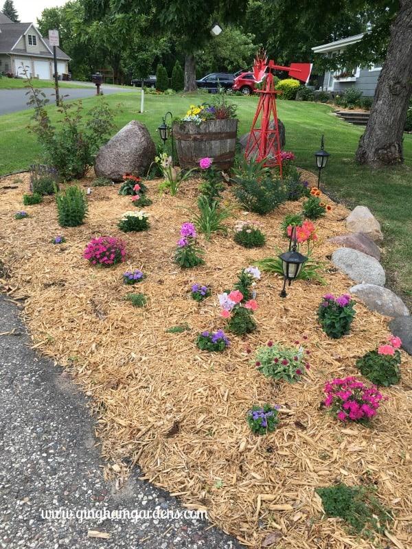 Flower Garden Makeover - After Year 1