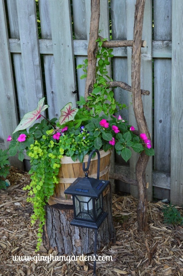 Easy Diy Garden Decor Using Tree Branches Gingham Gardens