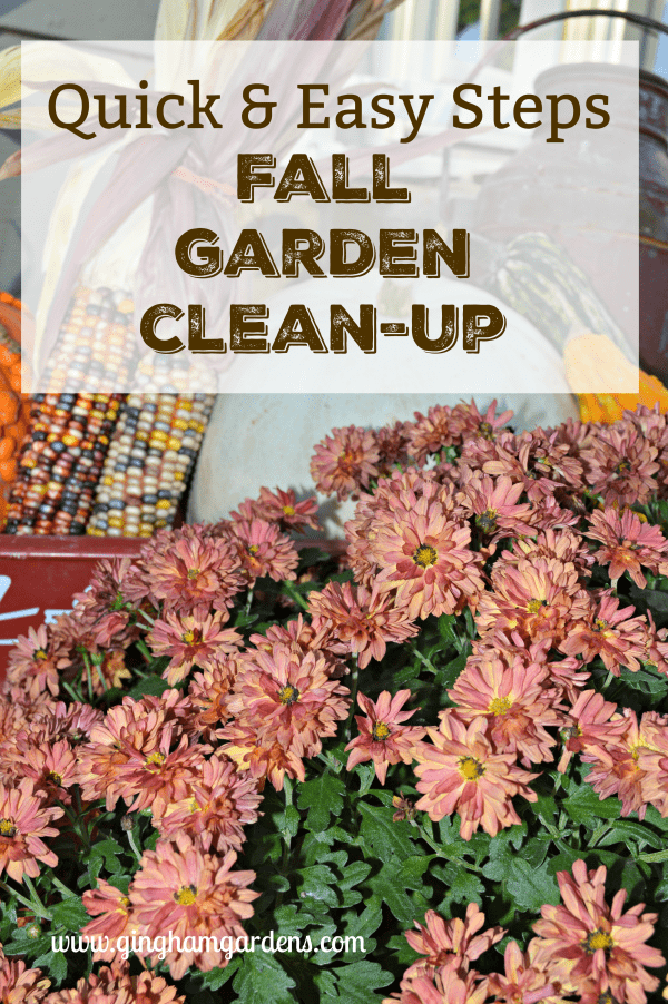 Quick & Easy Tips for Cleaning Up Fall Gardens