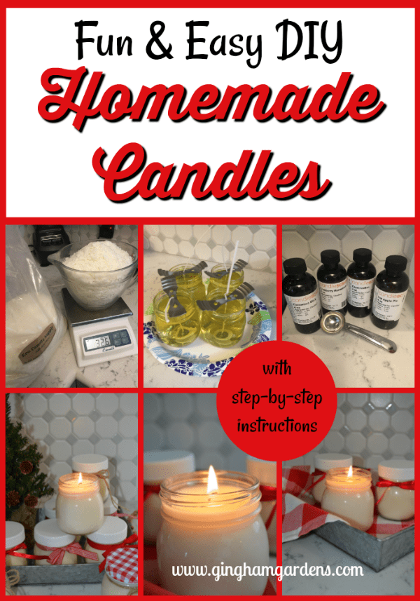 How to Make Scented Soy Candles