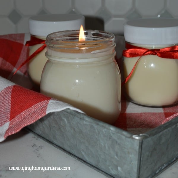 DIY Scented Homemade Candles