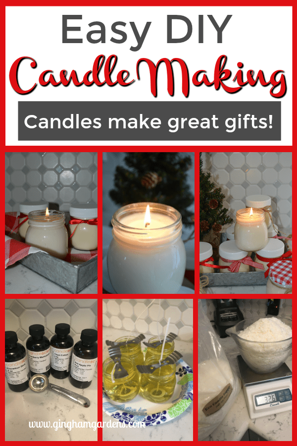 How to Make Scented Candles - Easy DIY Candle Making