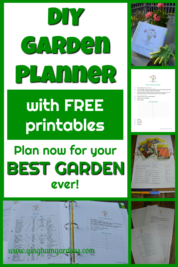 Garden Planner with Free Printables