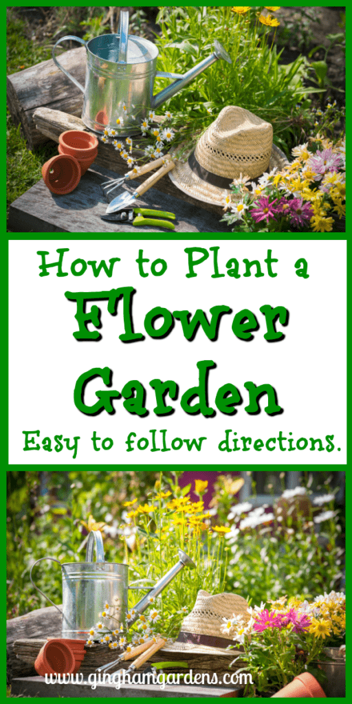 How to Plan & Plant a Flower Garden