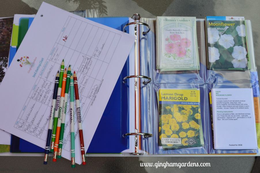 DIY Garden Planner | Garden Journal