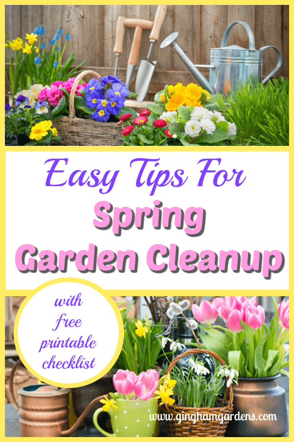 Easy Tips for Spring Garden Cleanup