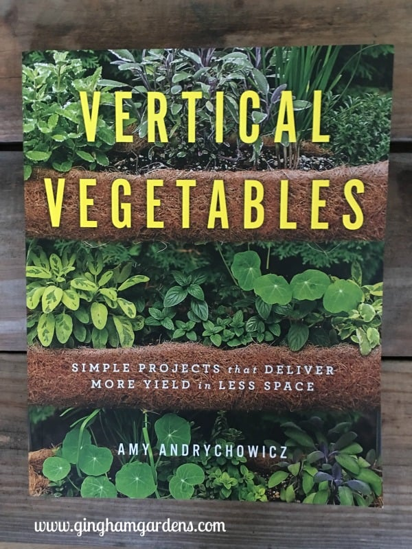 Vertical Vegetables Book - Things for Gardeners to do in Winter
