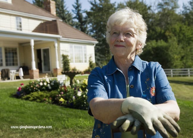 Elderly Gardener - Tips for the Aging Gardener