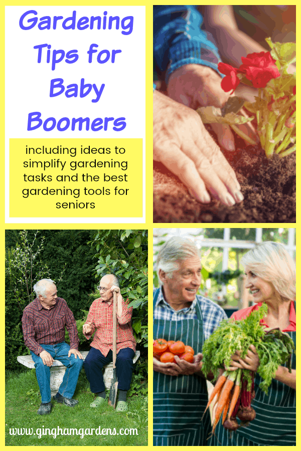Gardening Tips for Baby Boomers