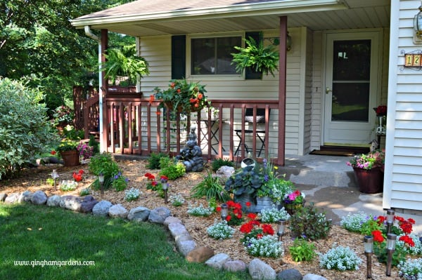 Low Maintenance Flower Gardens Add Curb Appeal