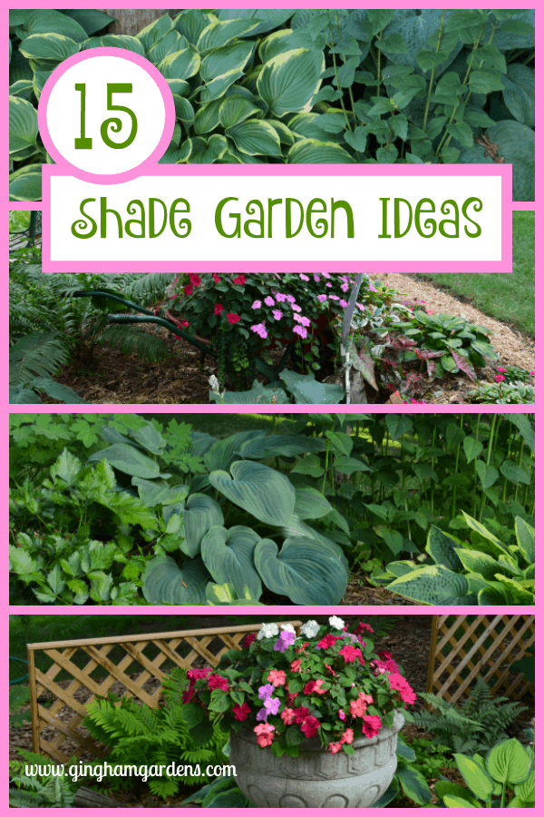 15 Shade Garden Ideas