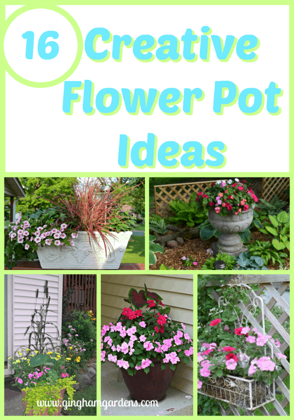 Cute Flower Pot Ideas & Tips for Container Gardens