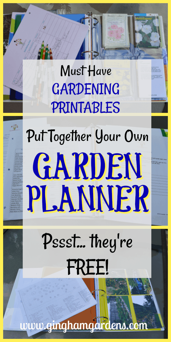 Create Your Own Garden Planner with Free Gardening Printables