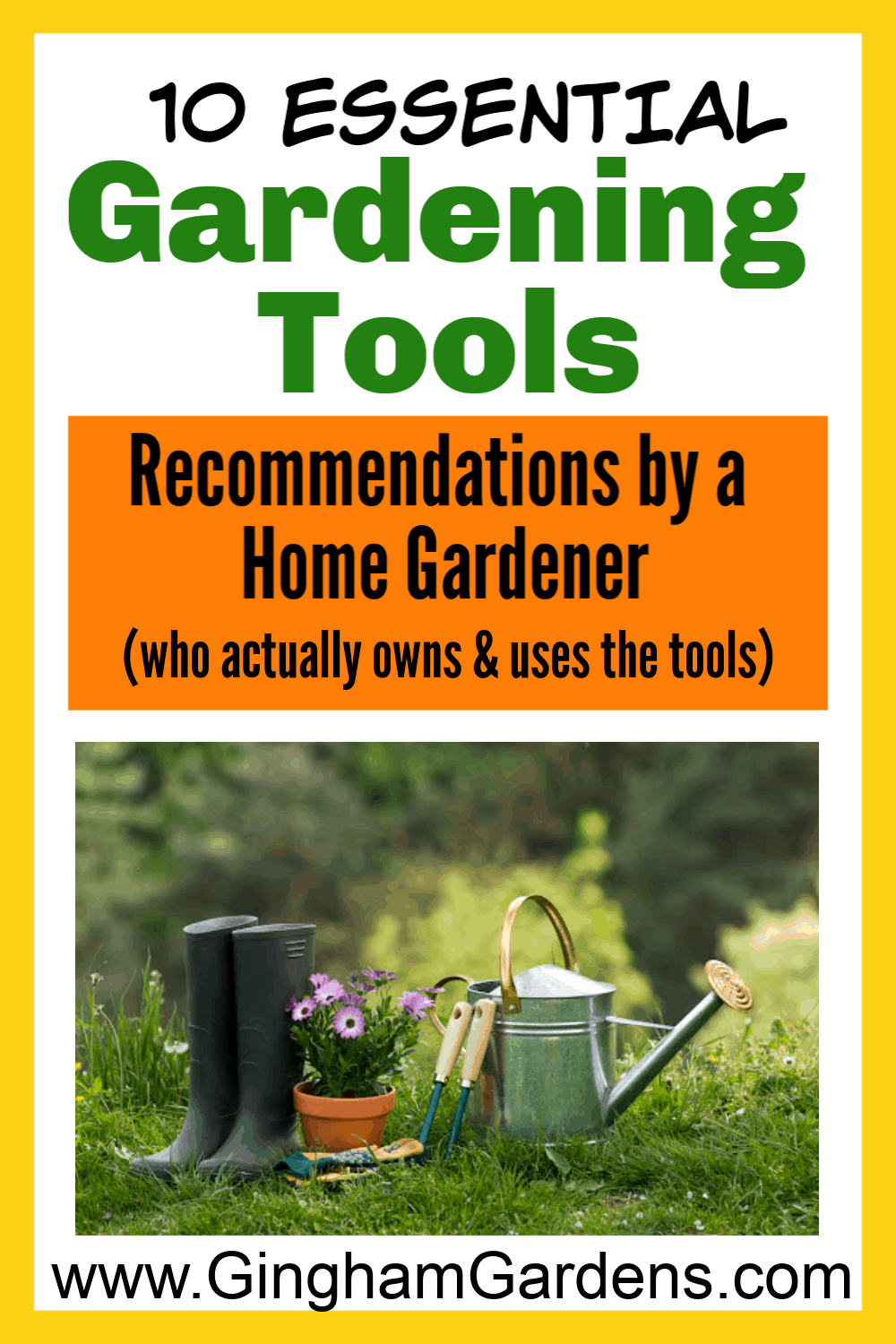 10 Essential Gardening Tools