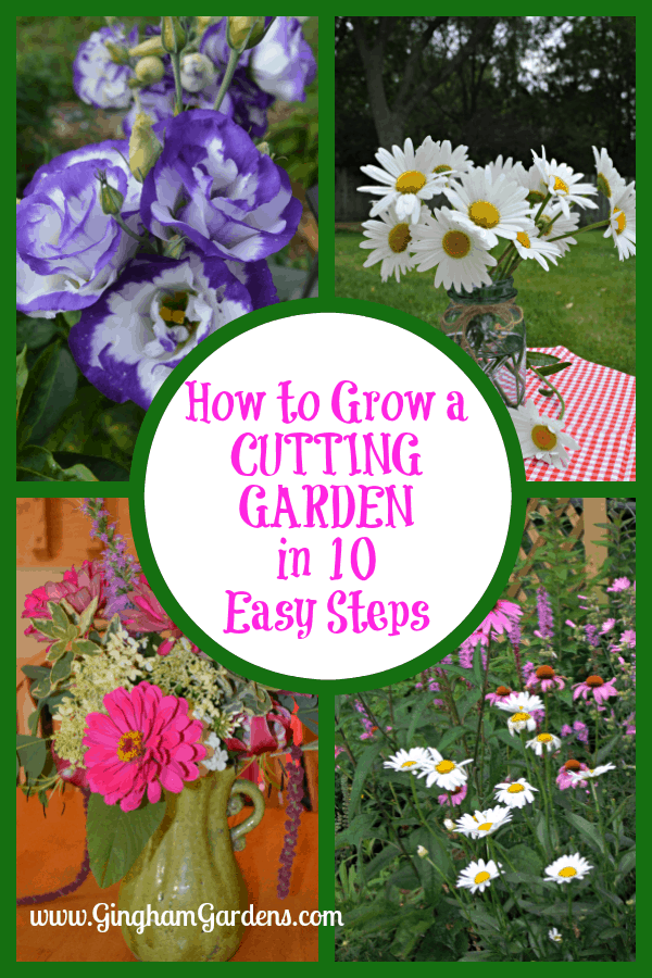How to Grow a Cutting Garden