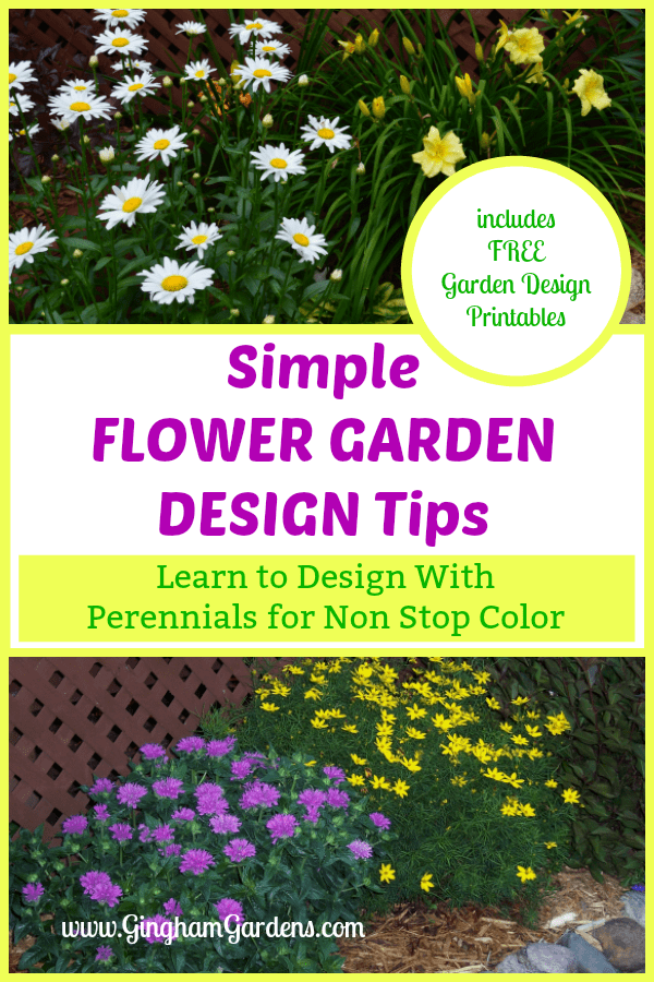Simple Flower Garden Design Tips