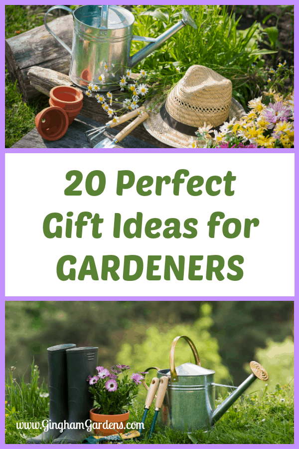 20 Perfect Gift Ideas for Gardeners