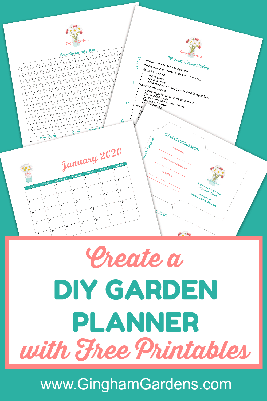 DIY Garden Planner