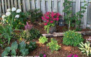 Shade Border and Junk Garden Vignettes