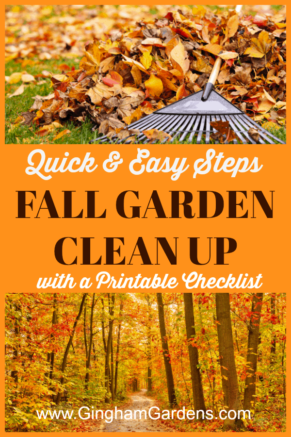 Fall Garden Clean Up