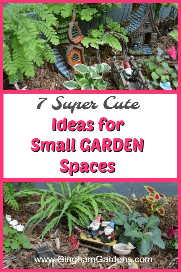 Ideas for Small Garden Spaces