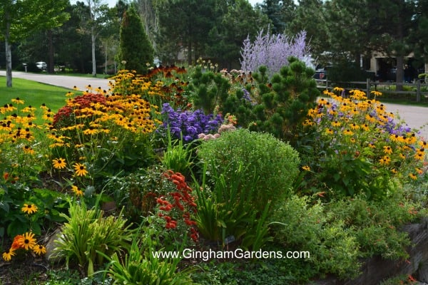 Fall Flower Garden Inspiration