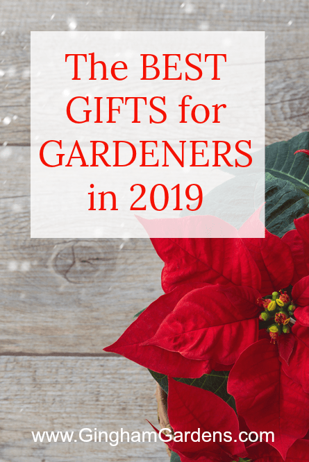 Creative Gifts for Gardeners in 2019