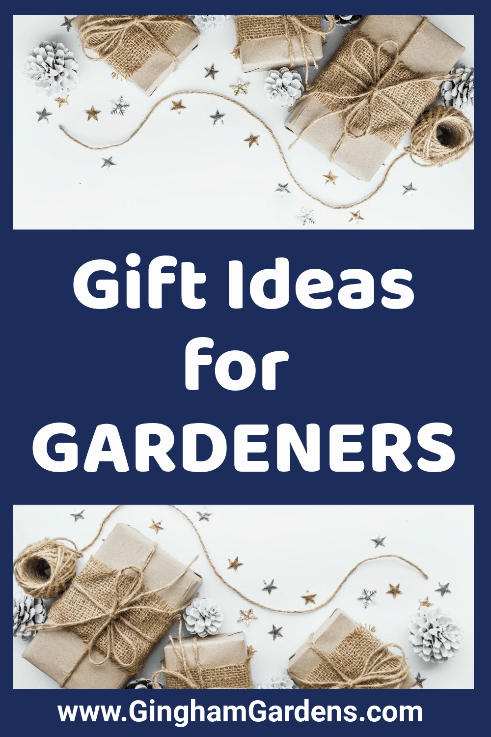 Images of Gifts with Text Overlay - Gift Ideas for Gardeners