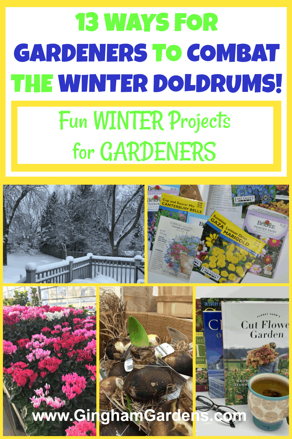 Projects for Gardeners to Do In Winter