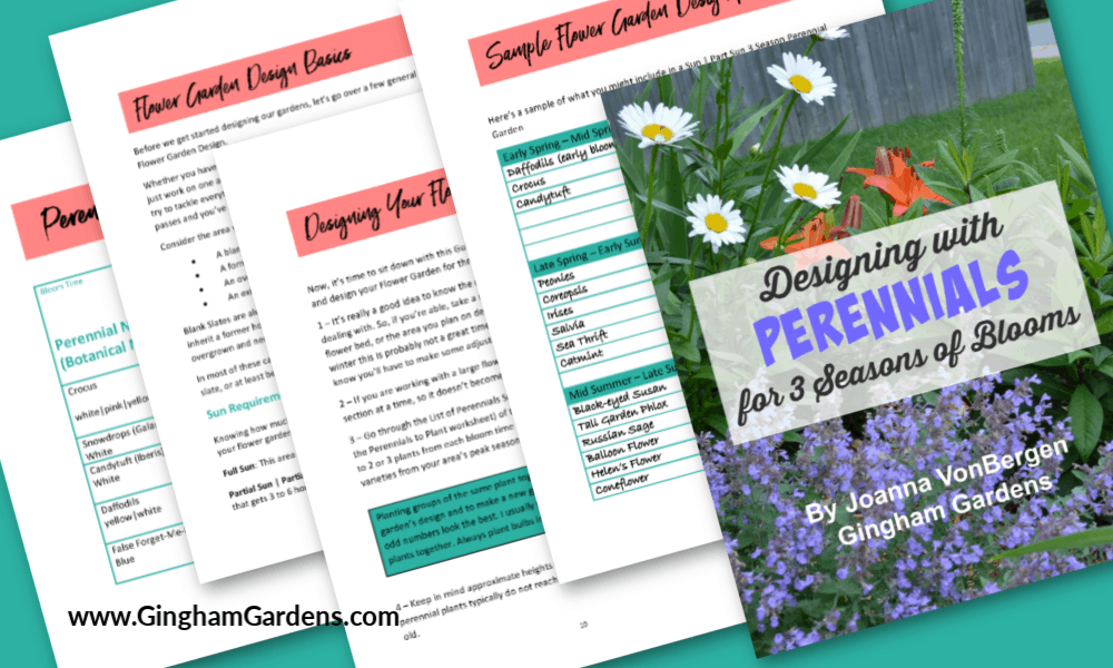 Booklet - Designing with Perennials for 3 Seasons of Blooms