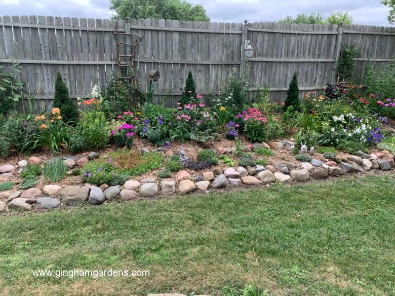 Image of a Home Flower Garden