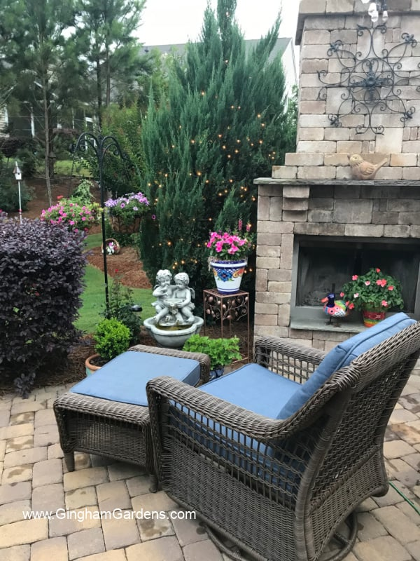 Image of a patio garden room