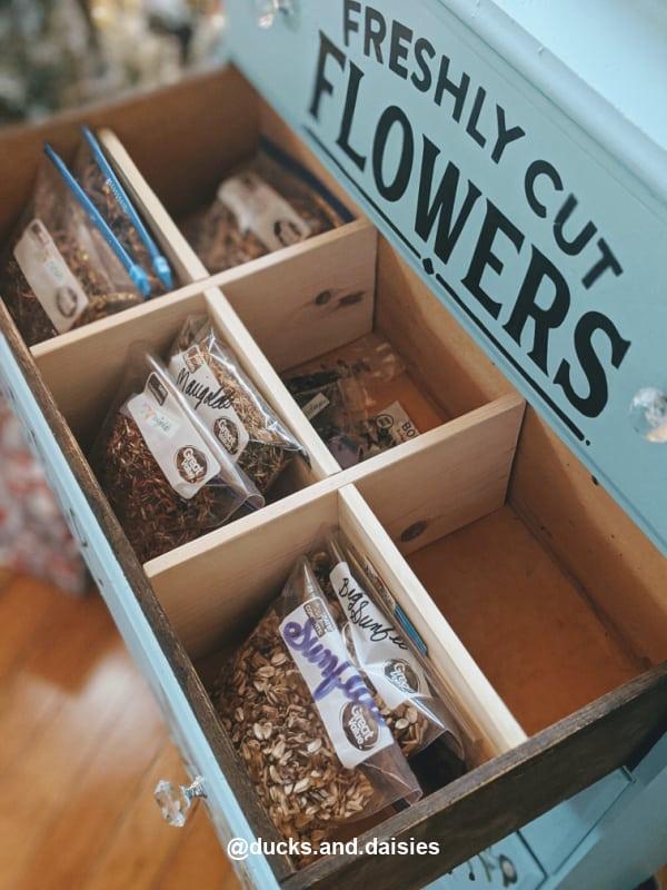 seed storage chest